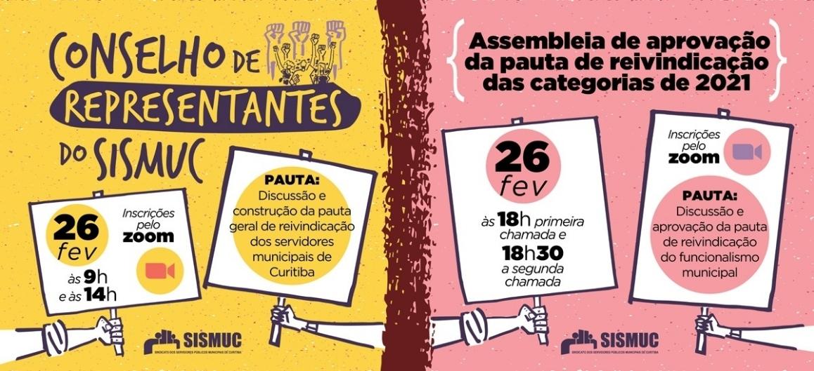 CR do SISMUC e assembleia acontecem na próxima sexta-feira (26)